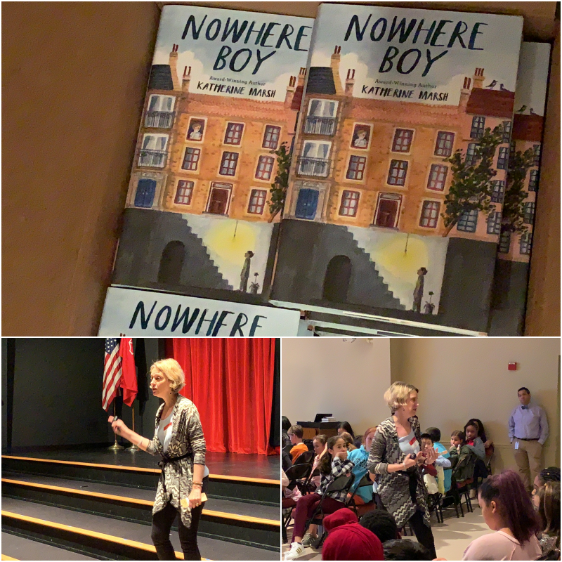 Author Katherine Marsh Speaks With Chapin School Princeton Students